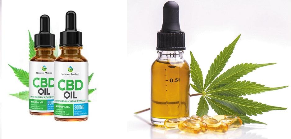 Essayez qui ne contient que des ingrédients naturels Natures Method CBD Oil france