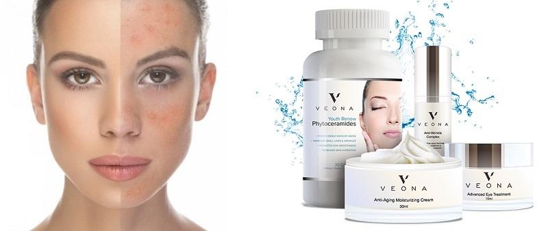 Veona Beauty - ingrédients naturels. Effets d'application